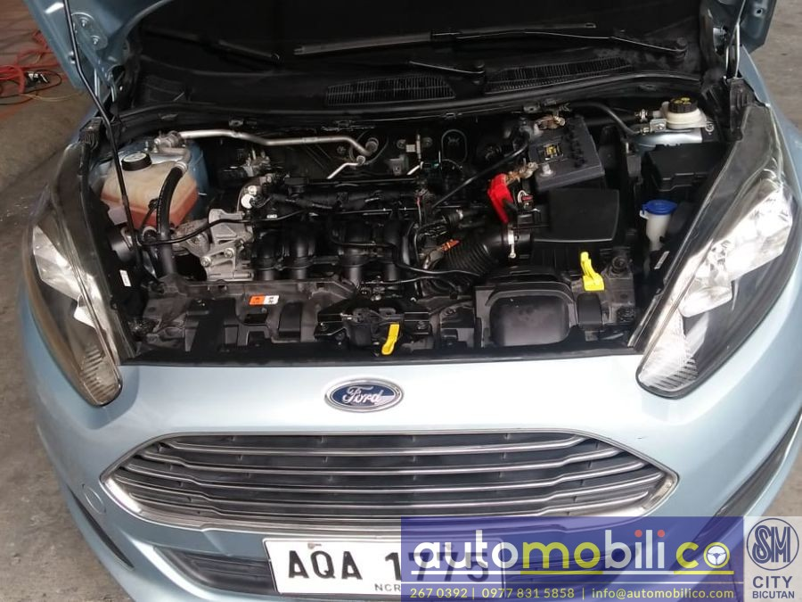 2014 Ford Fiesta - Interior Rear View