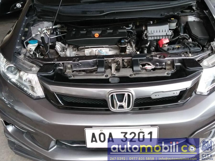 2014 Honda Civic - Interior Rear View