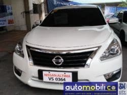 2015 Nissan Altima - Front View