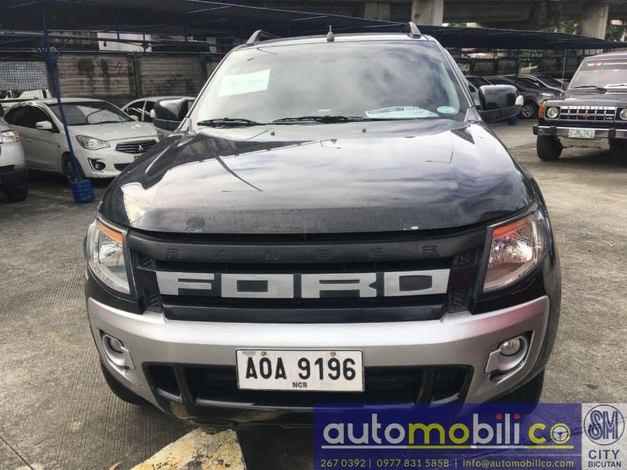 2014 Ford Ranger - Front View
