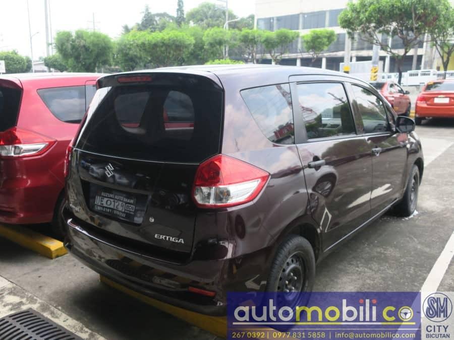 2016 Suzuki Ertiga - Interior Rear View