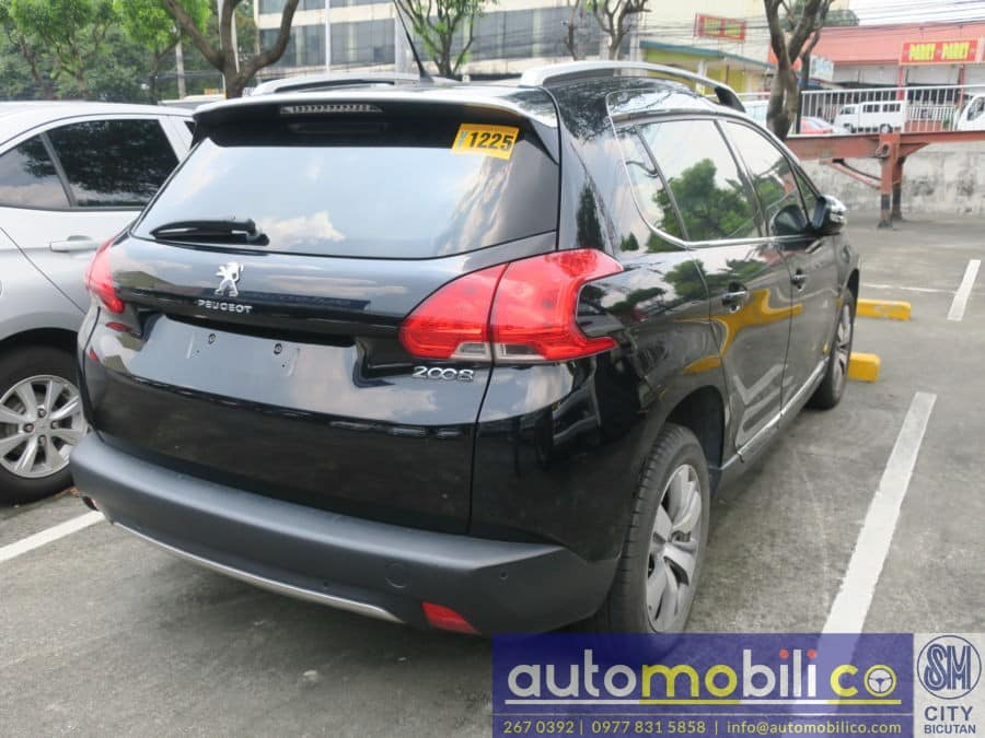 2015 Peugeot 3008 - Interior Rear View