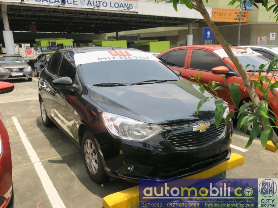 2017 Chevrolet Sail - Interior Rear View