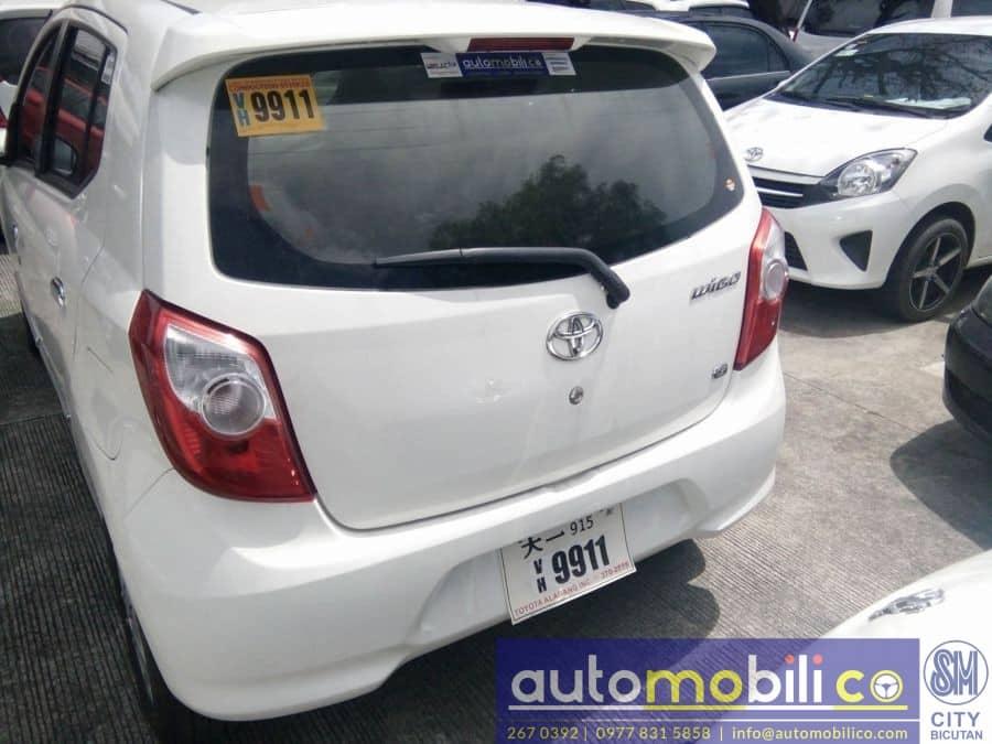 2017 Toyota Wigo - Rear View