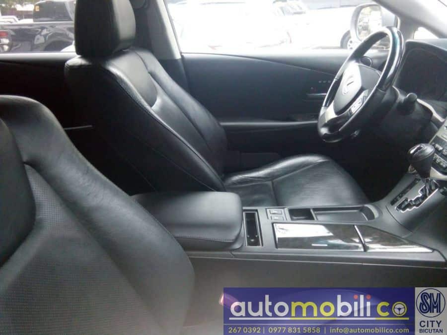 2012 Lexus RX - Interior Front View
