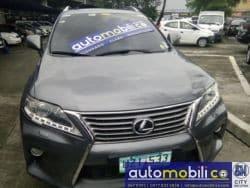 2012 Lexus RX - Front View