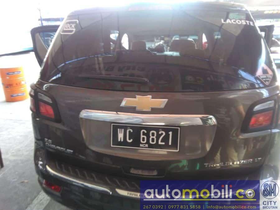 2015 Chevrolet Trailblazer - Rear View