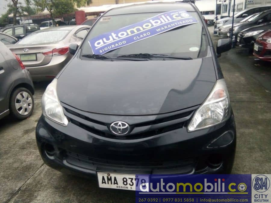 2015 Toyota Avanza - Front View