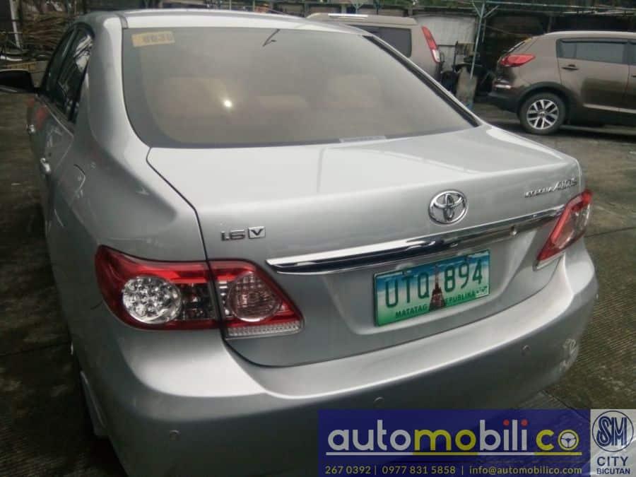 2013 Toyota Corolla Altis V - Rear View