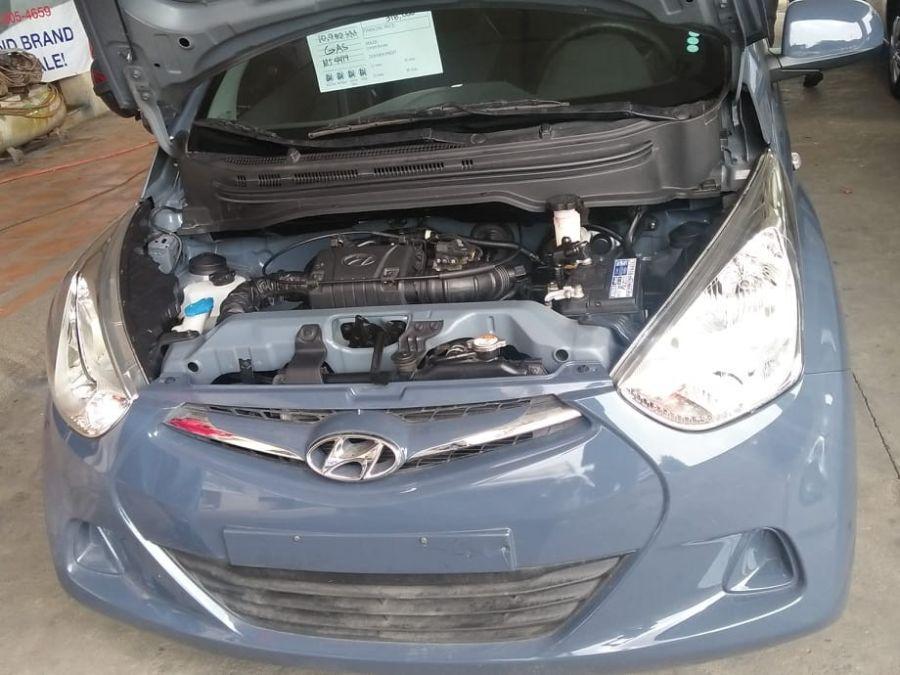 2017 Hyundai Eon - Interior Rear View