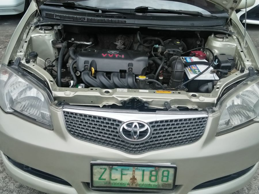 2006 Toyota Vios - Interior Rear View