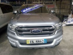 2016 Ford Everest - Front View