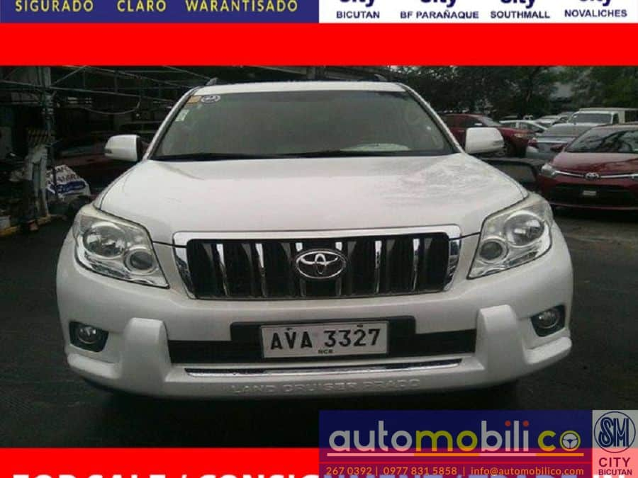 2013 Toyota LandCruiser - Front View