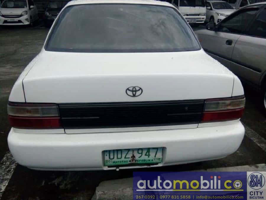1996 Toyota Corolla - Rear View