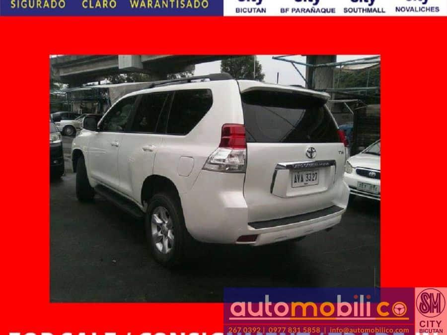 2013 Toyota LandCruiser - Rear View