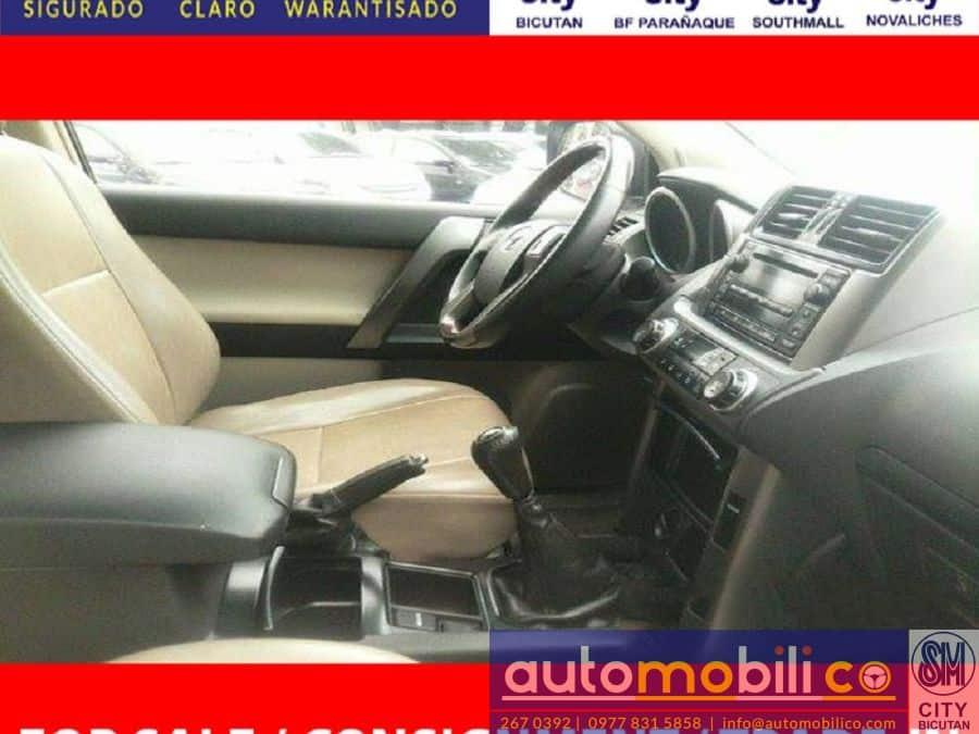 2013 Toyota LandCruiser - Interior Front View