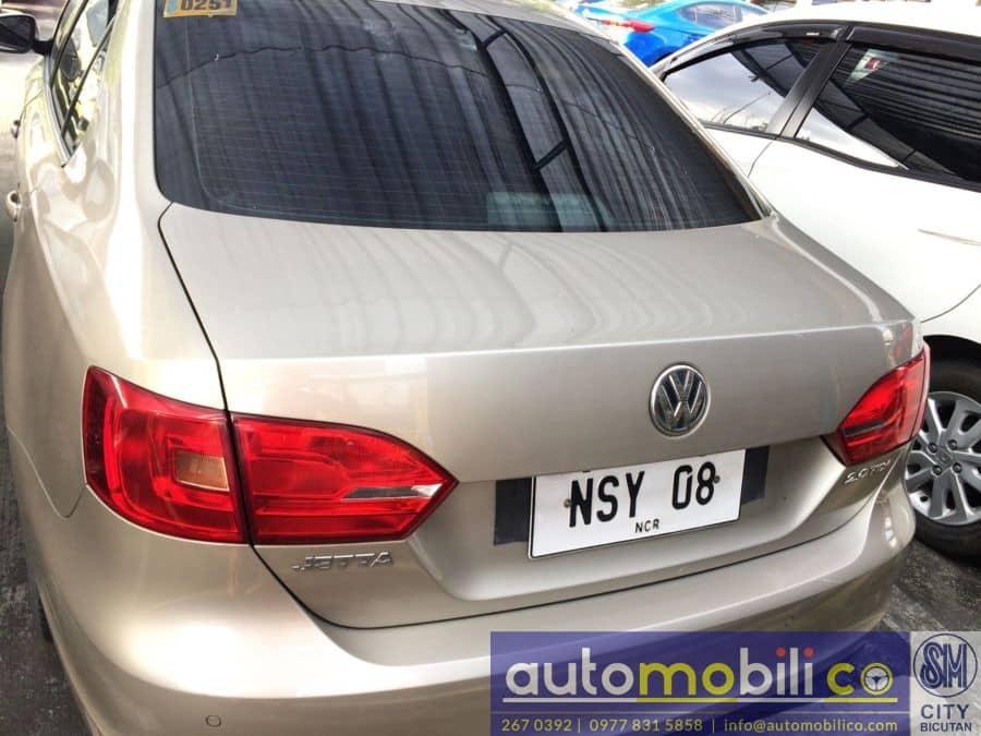 2014 Volkswagen Jetta - Rear View