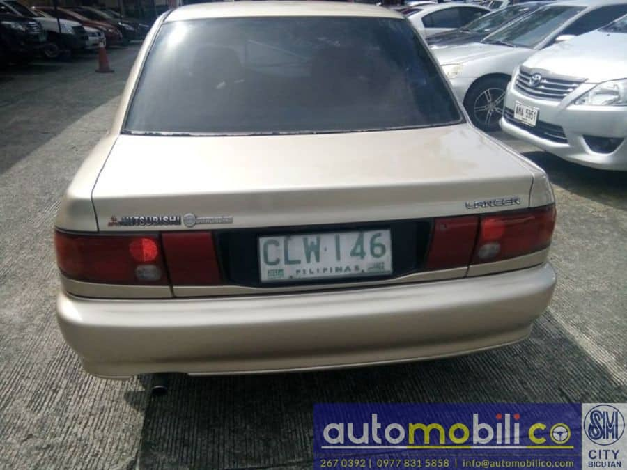 1994 Mitsubishi Lancer - Rear View
