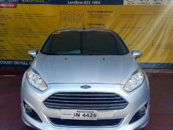 2017 Ford fiesta S - Front View