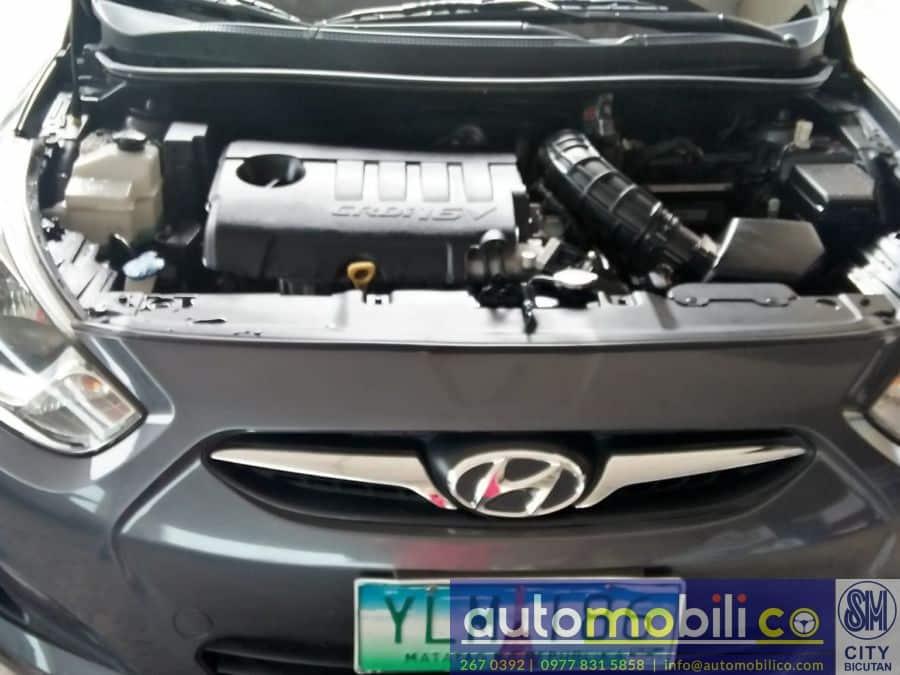 2013 Hyundai Accent - Interior Rear View