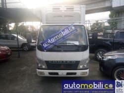 2006 Mitsubishi Dump Truck - Front View