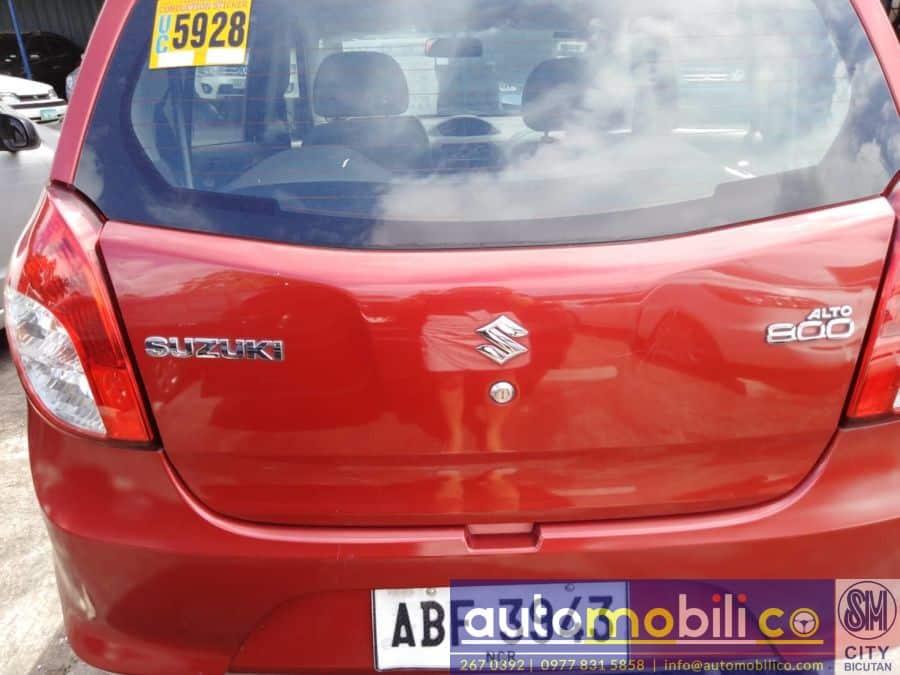 2015 Suzuki Alto - Rear View