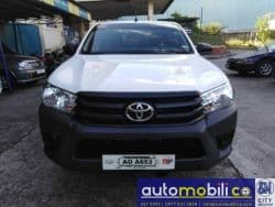 2017 Toyota Hilux - Front View