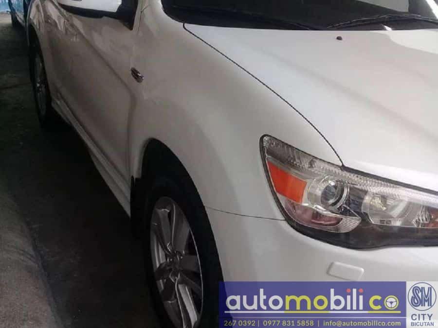2012 Mitsubishi ASX - Interior Rear View