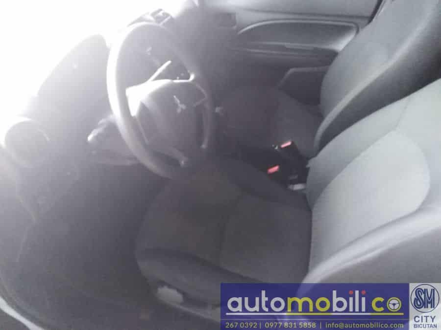 2016 Mitsubishi Mirage - Interior Front View