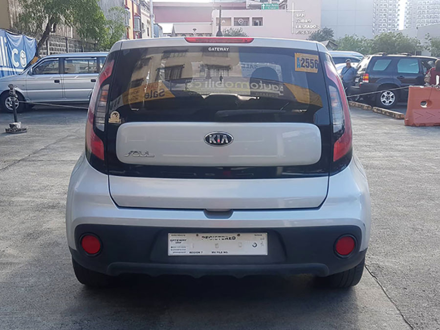 2017 Kia Soul - Rear View