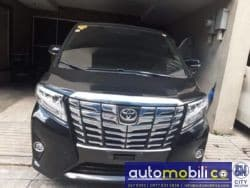 2018 Toyota Alphard - Front View