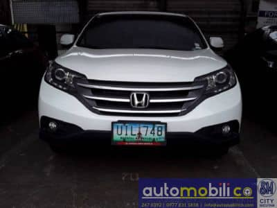 2012 Honda CR-V - Front View