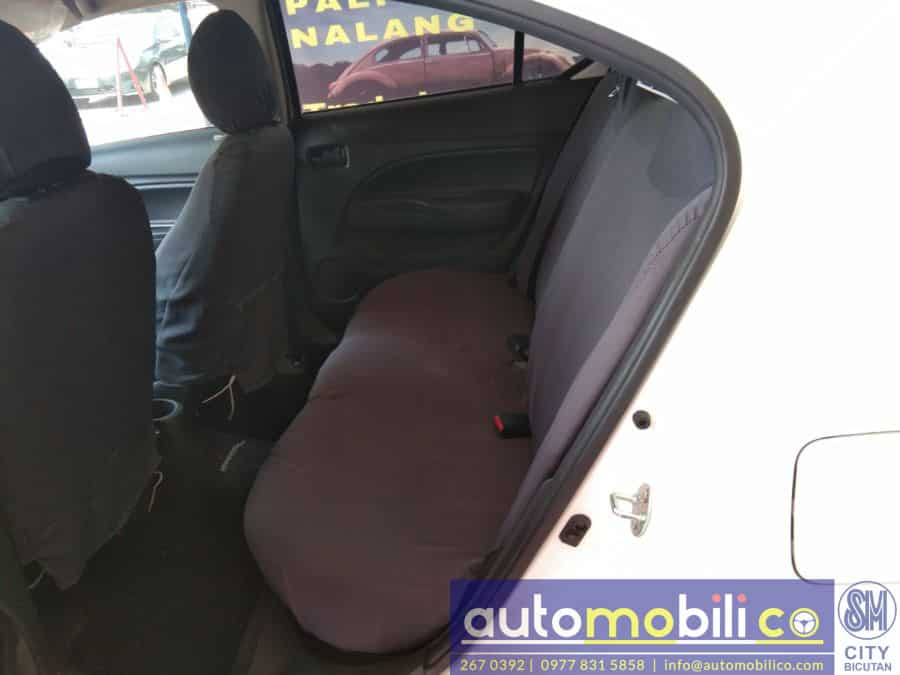 2017 Mitsubishi Mirage - Interior Front View