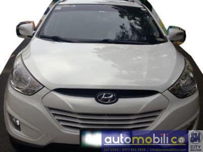 2013 Hyundai Tucson - Front View