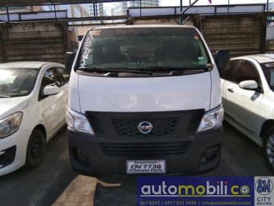 2016 Nissan Urvan - Front View