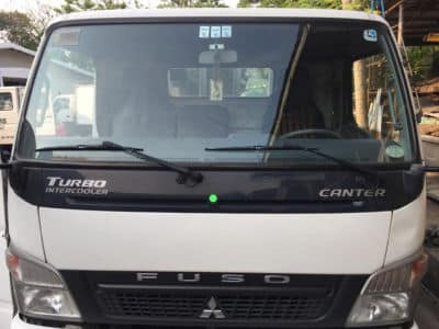 2013 Mitsubishi Canter - Front View