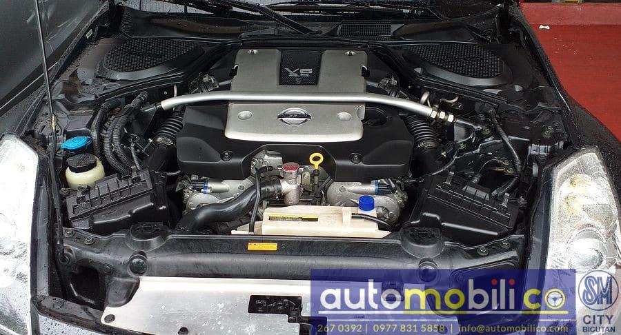 2008 Nissan 350Z - Interior Rear View