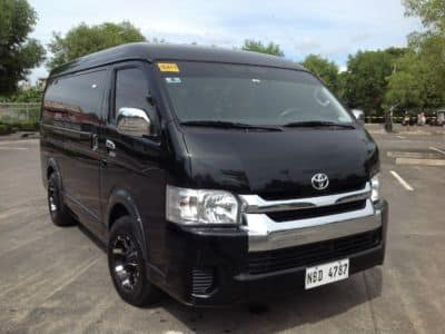 2018 Toyota Hiace - Front View