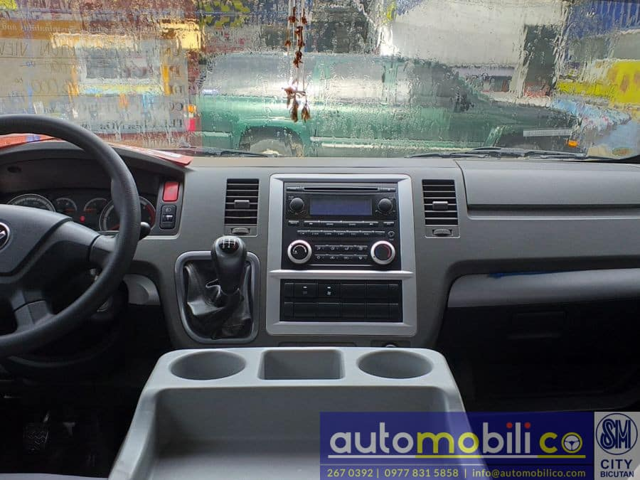 2017 Foton View - Interior Front View