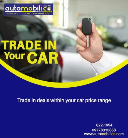 Trade in deals for your car