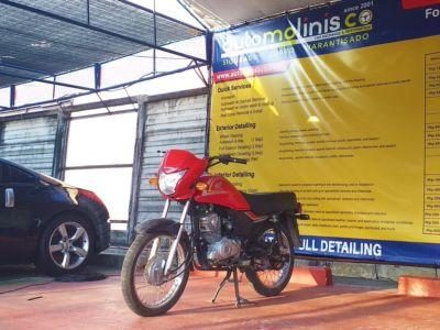 2014 Honda CB125 - Front View