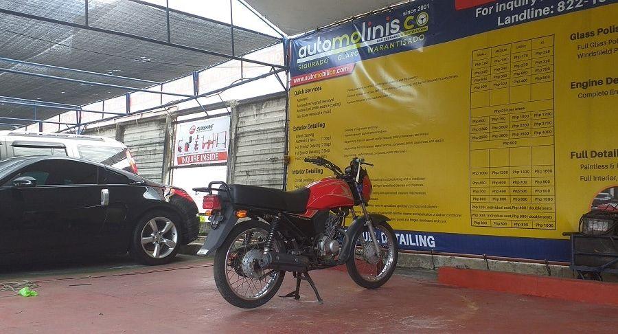 2015 Honda CB125 - Right View