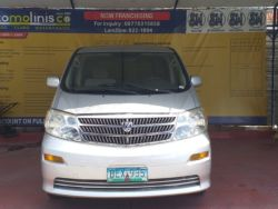 2002 Toyota Alphard - Front View