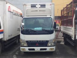 2006 Mitsubishi freezer canter - Front View