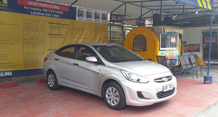 2015 Hyundai Accent - Left View