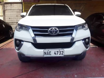 2017 Toyota Fortuner - Front View