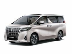2019 Toyota All New Alphard - Interior Rear View