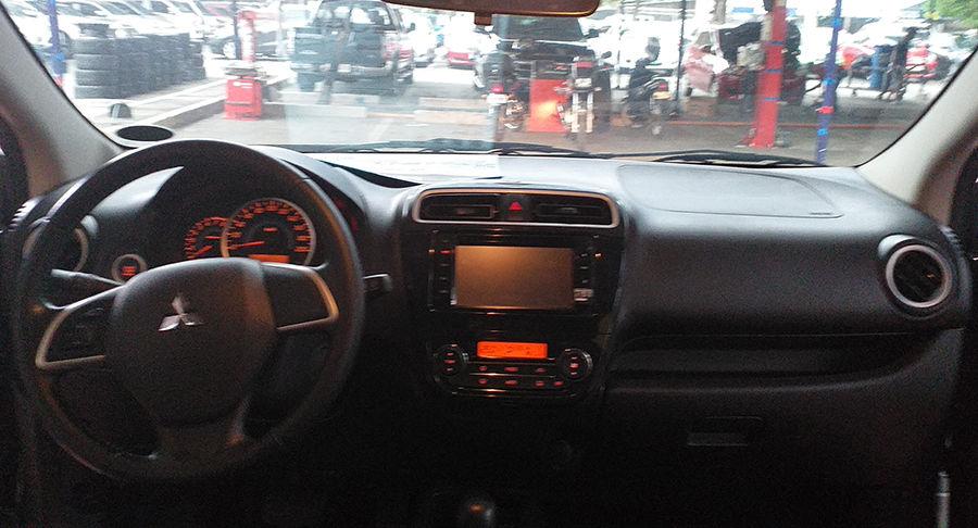 2015 Mitsubishi MIRAGE GLS - Interior Front View