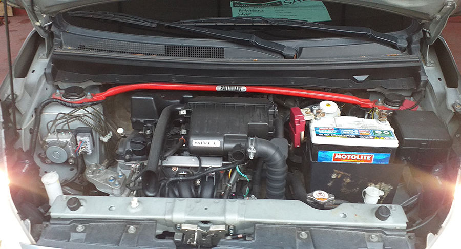 2015 Mitsubishi MIRAGE GLS - Interior Rear View