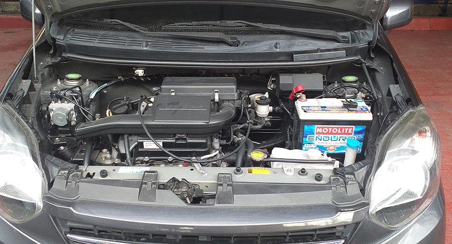 2017 Toyota WIGO G TRD - Interior Rear View
